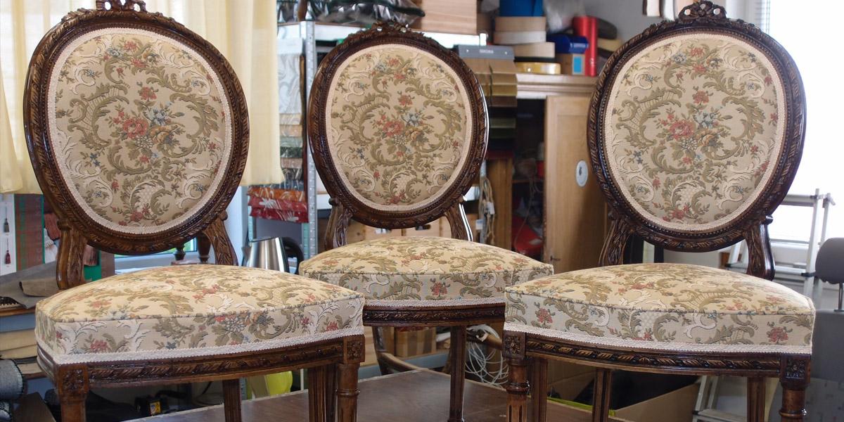 Restaurování historického nábytku